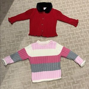 Other - Girl's Lot of 2sweaters Size 18 months